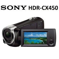 【免運費】SONY HDR-CX450 數位攝影機 (公司貨)