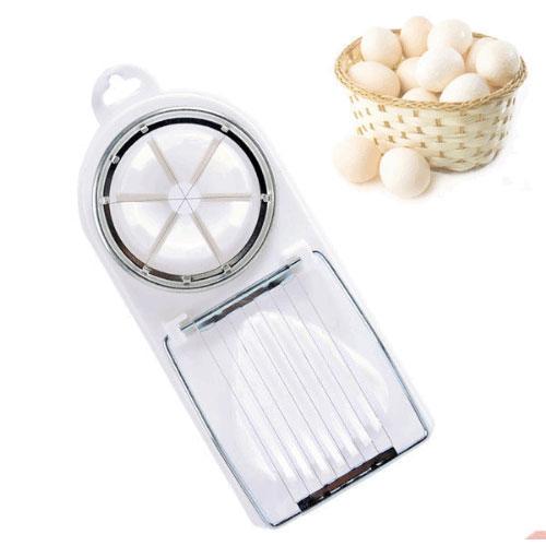 二合一 多功能切蛋器 雞蛋 皮蛋 鹹蛋 花式切蛋