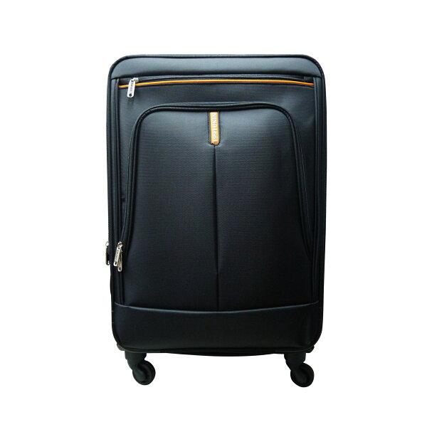 【加賀皮件】NINO1881商務拉桿箱布箱行李箱旅行箱防潑水靜音輪四輪24吋8585