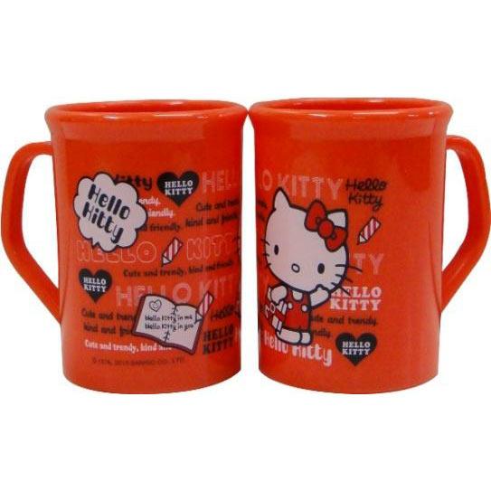 【奇買親子購物網】Hello Kitty 凱蒂貓PP水杯-300cc