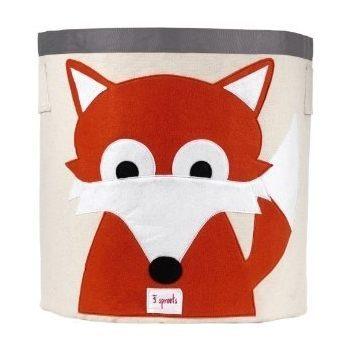 【 貨】加拿大3 Sprouts 收納籃~小狐狸