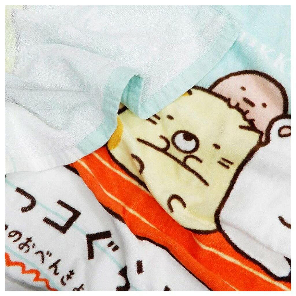 【積文館】浴巾 日本進口 角落小生物 角落公仔 輕薄(120*60cm) 2