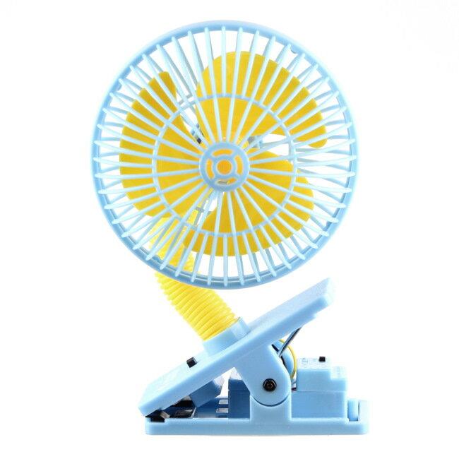 ★衛立兒生活館★LUCKY BABY 可夾式驅蚊電風扇/防蚊/安全風扇/風扇-(粉紅/綠/藍)