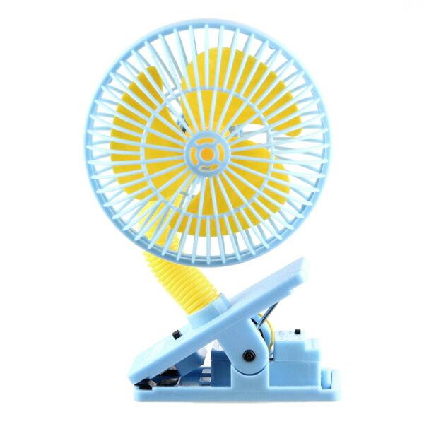 LUCKYBABY可夾式驅蚊電風扇防蚊安全風扇風扇-(顏色隨機)★衛立兒生活館★