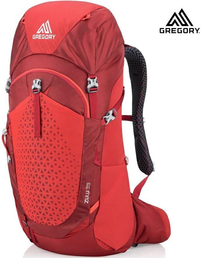 Gregory Zulu 35 登山背包/登山包 男款35升 111583 火紅7413