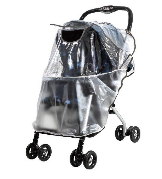 台灣【ViVibaby 】嬰兒車防雨罩 (M)-標準型
