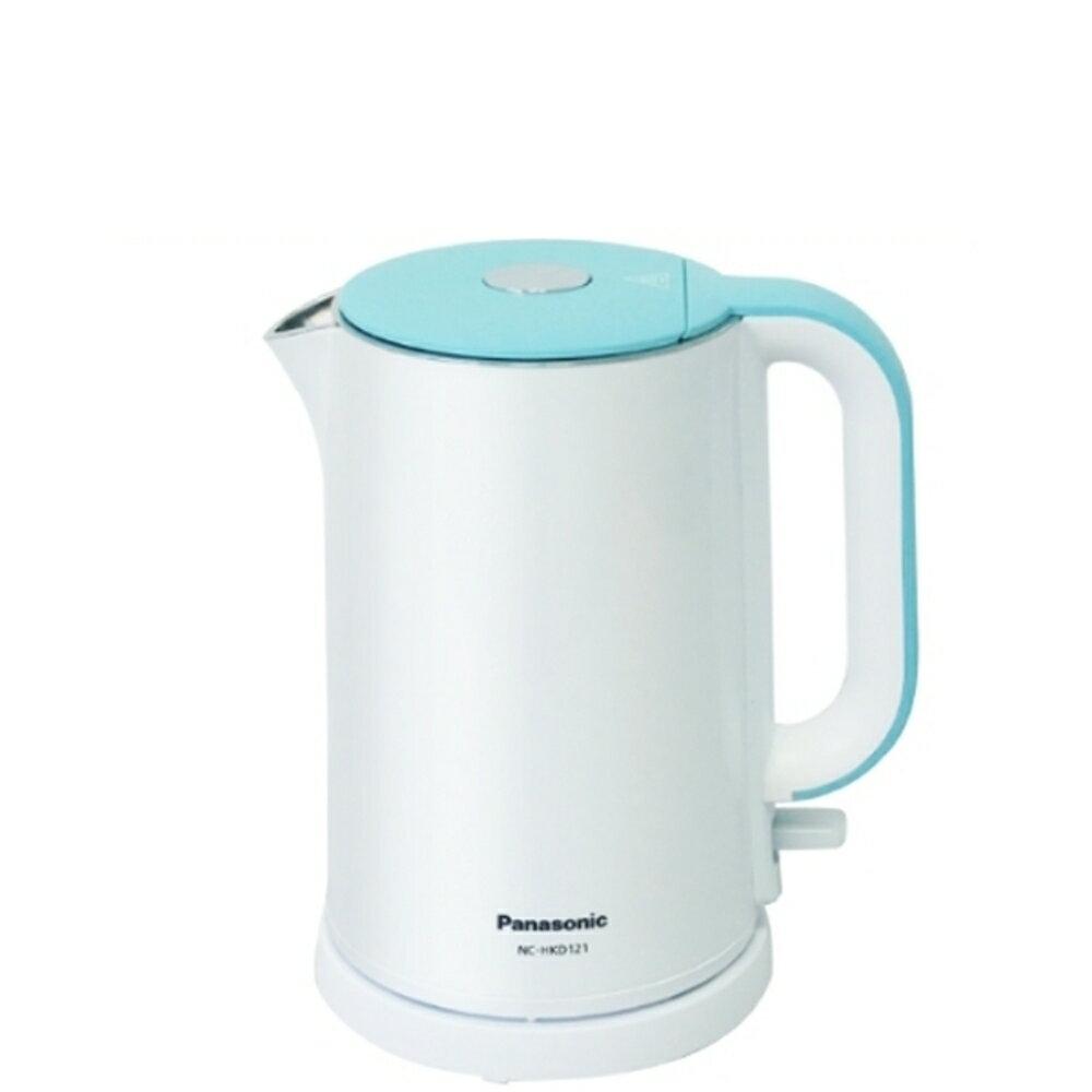 滿2000賺10%再折350元★Panasonic國際牌【NC-HKD121】1.2L不鏽鋼電熱水壺