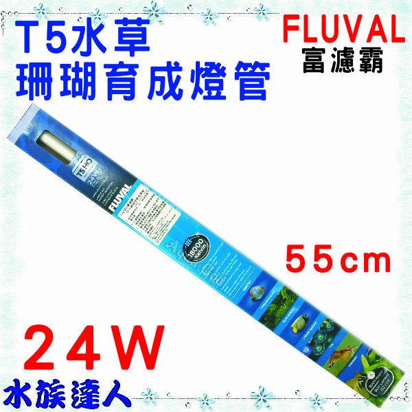 【水族達人】【燈管】赫根HAGEN富濾霸FLUVAL《T5水草珊瑚育成燈管 24W 55CM HG-A1657》