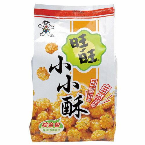 旺旺小小酥綜合包-輕辣+香蔥雞汁口味150g【愛買】