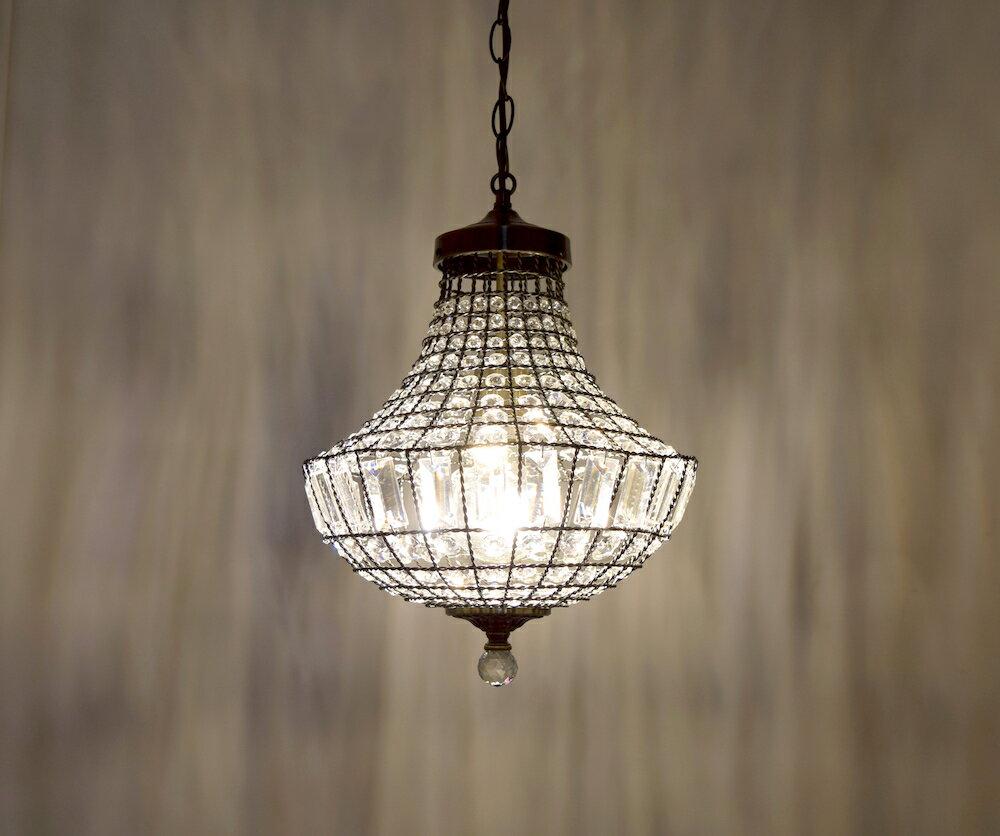 古銅提籠水晶吊燈-BNL00106 7