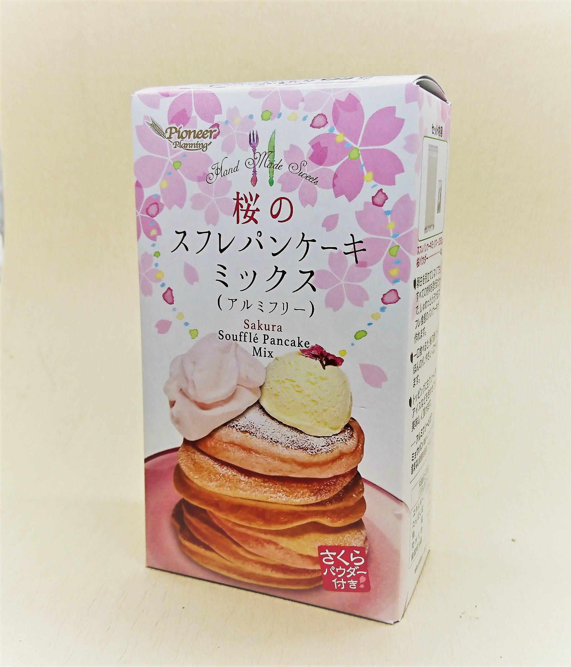 【橘町五丁目】日本PIONEER櫻花舒芙蕾鬆餅粉(含櫻花粉)254g 含4櫻花粉