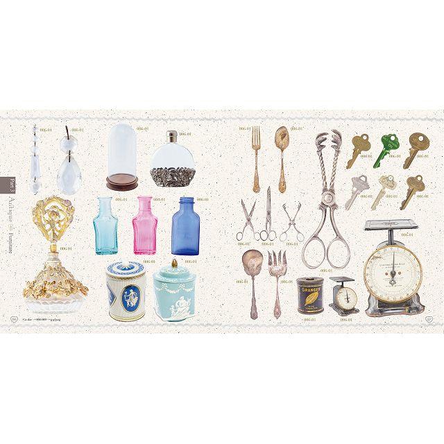 甜點與古董主題女孩風設計素材集 5