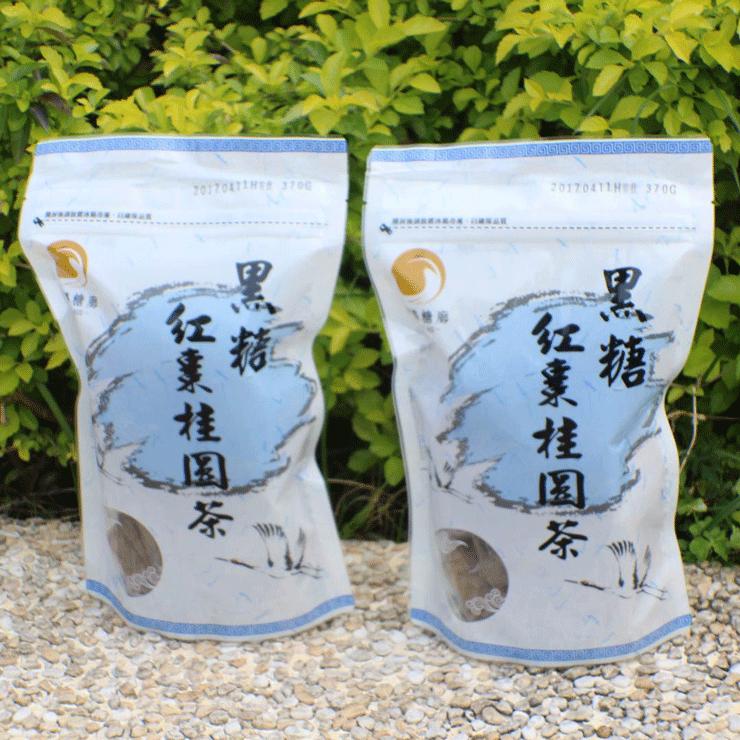 【翔鶴糖廓】黑糖桂圓紅棗茶(大顆,370g) 3