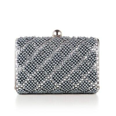 晚宴包珍珠手拿包-歐美時尚精緻燙鑽女包包73su14【獨家進口】【米蘭精品】