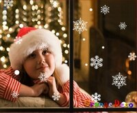 幫家裡聖誕佈置裝飾推薦聖誕佈置壁貼到雪花 耶誕 聖誕 DIY組合壁貼 牆貼 壁紙 無痕壁貼 室內設計 裝潢 裝飾佈置【橘果設計】就在橘果設計推薦幫家裡聖誕佈置裝飾