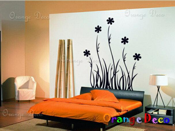 <br/><br/>  花叢蝴蝶 DIY組合壁貼 牆貼 壁紙 無痕壁貼 室內設計 裝潢 裝飾佈置【橘果設計】<br/><br/>