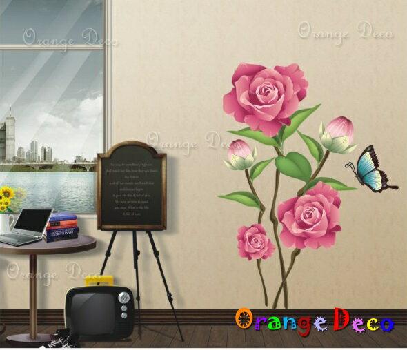 橘果設計:鳥語花香DIY組合壁貼牆貼壁紙無痕壁貼室內設計裝潢裝飾佈置【橘果設計】