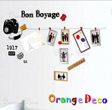 相機 DIY組合壁貼 牆貼 壁紙 無痕壁貼 室內設計 裝潢 裝飾佈置【橘果設計】
