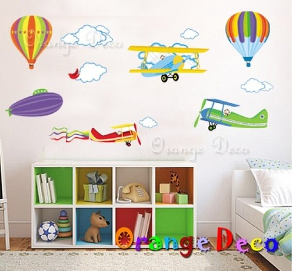 翱翔天空DIY組合壁貼牆貼壁紙無痕壁貼室內設計裝潢裝飾佈置【橘果設計】