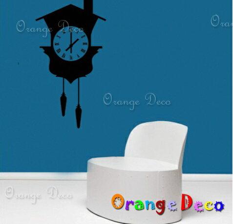 時鐘 DIY組合壁貼 牆貼 壁紙 無痕壁貼 室內設計 裝潢 裝飾佈置【橘果設計】