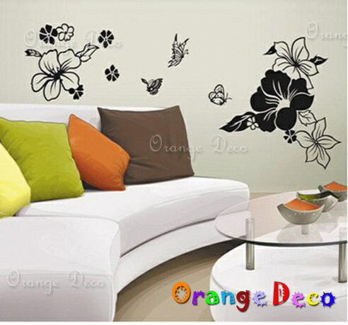 浪漫花 DIY組合壁貼 牆貼 壁紙 無痕壁貼 室內設計 裝潢 裝飾佈置【橘果設計】