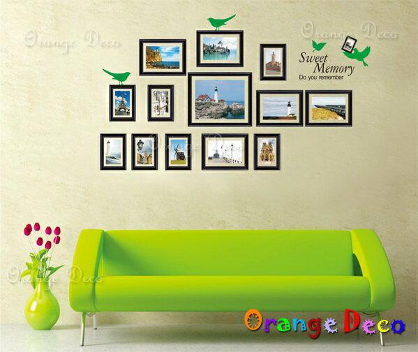橘果設計:風景相框DIY組合壁貼牆貼壁紙無痕壁貼室內設計裝潢裝飾佈置【橘果設計】