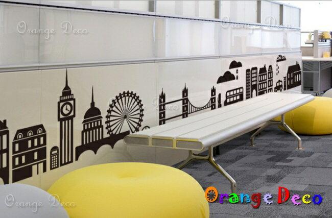 摩天輪 DIY組合壁貼 牆貼 壁紙 無痕壁貼 室內設計 裝潢 裝飾佈置【橘果設計】