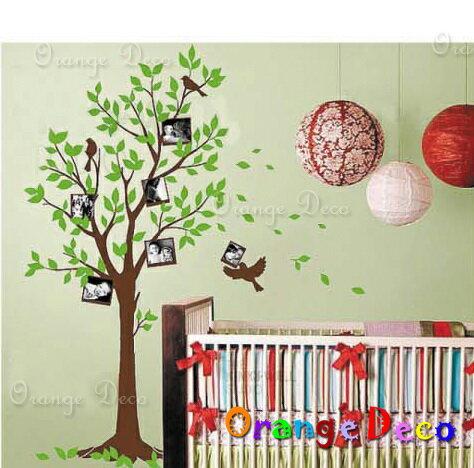 橘果設計:相片樹DIY組合壁貼牆貼壁紙無痕壁貼室內設計裝潢裝飾佈置【橘果設計】