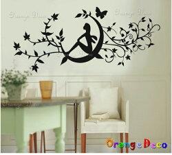 月仙子 DIY組合壁貼 牆貼 壁紙 無痕壁貼 室內設計 裝潢 裝飾佈置【橘果設計】