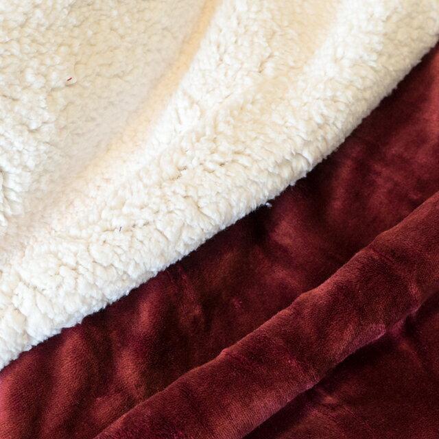 經典素色羊羔絨厚毯 綜合賣場 素色高雅 150cmX200cm (正負5cm)送禮自用皆宜 安娜居家 2