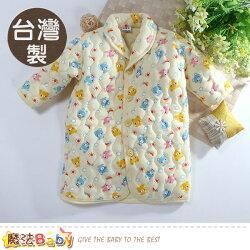 嬰幼兒長袍 台灣製鋪棉厚款極暖長袖睡袍 魔法Baby~k60783