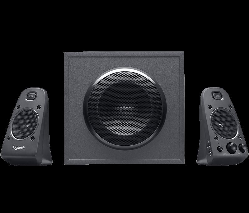 Logitech 羅技 Z625 360 具備重低音音箱和光纖輸入音箱系統  喇叭