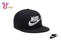Nike Futura True 鴨舌帽 棒球帽 白電繡Logo A0467 #黑 ◆OSOME奧森鞋業