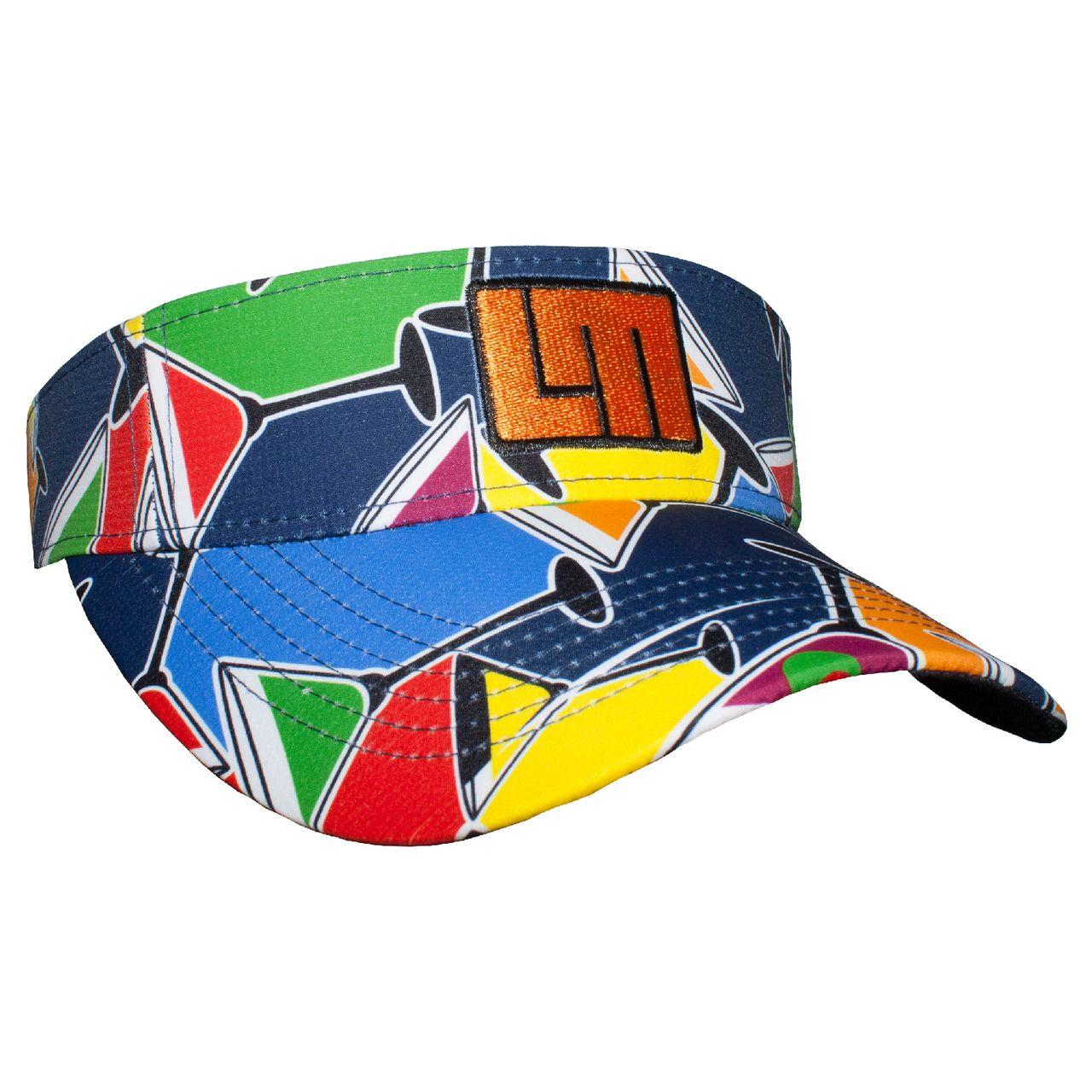 LOUDMOUTH 英國高爾夫服飾品牌-彩色雞尾酒中空帽