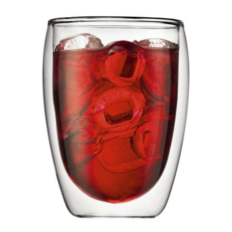 耐熱雙層玻璃杯300ml 耐熱玻璃可樂杯 雀巢杯 媲美星巴克濃縮咖啡杯 Tiamo bodum蛋形杯