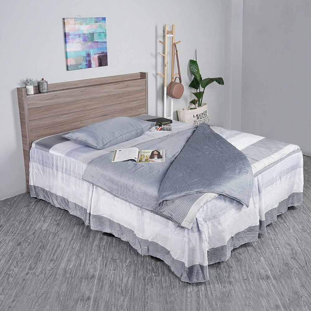 樹理日式床組(床頭片+床台)-雙人5尺/雙人加大6尺❘床台組合/臥室【YoStyle】