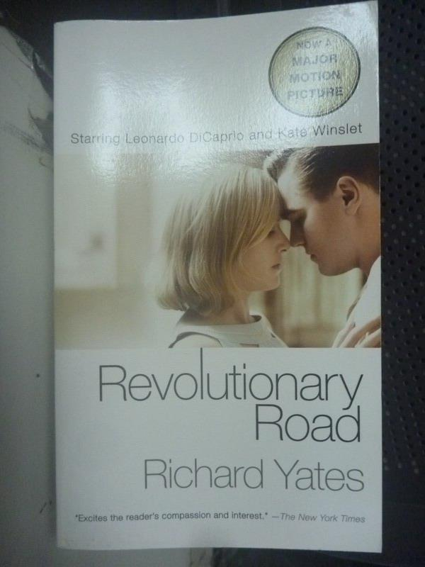 【書寶二手書T4/原文小說_LGL】Revolutionary Road_Yates, Richard