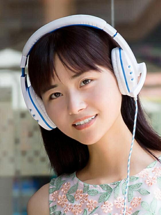 手機音樂錄音唱歌專用全民K歌耳麥頭戴式帶話筒OPPOvivo通用耳機 全館特惠9折