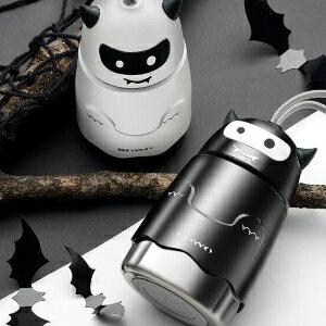 美麗大街【BFG59E877B93031C】博沃卡通小惡魔保溫杯便攜不銹鋼水杯創意學生手提杯(280ML)
