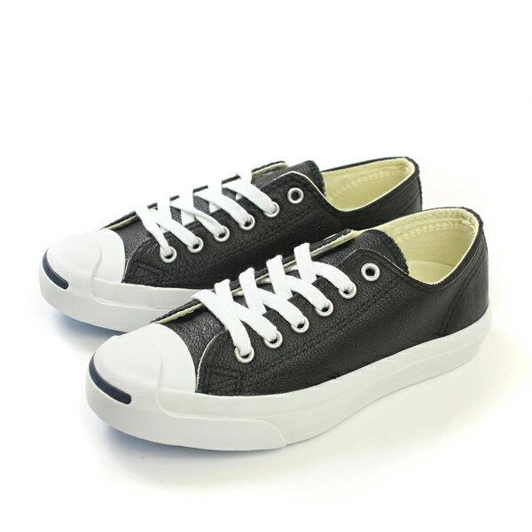CONVERSE JCK PURC LEA OX BLK/WHITE 休閒鞋 黑 男女款 1S962 no943