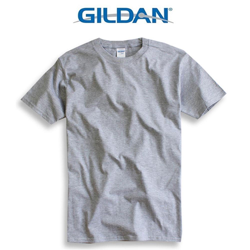 吉爾登GILDAN美國棉素T 圓領 GD美式休閒-石楠灰 8