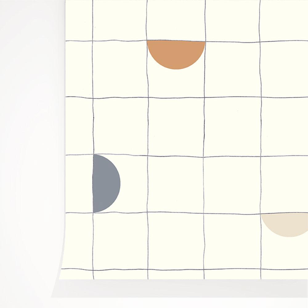 法國壁紙 格子紋圖案  2色可選  Season Paper x Heju合作壁紙 2