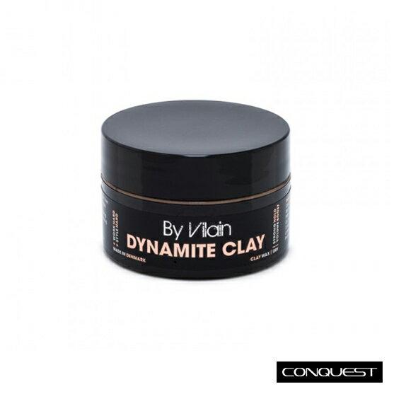 【 CONQUEST 】By Vilain Dynamite Clay (0.5oz)小容量 隨身攜帶 丹麥 無光澤凝土 貝克漢髮蠟