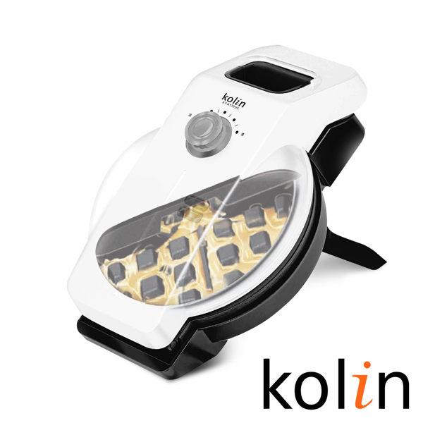 KOLIN歌林 傾斜直立式防溢35度導流不沾鬆餅機(KT-A1701H) 1
