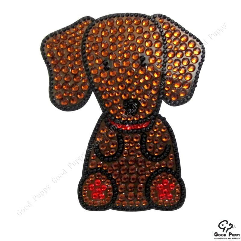 加拿大進口狗狗寵物水鑽貼紙-臘腸狗92955 Dachshund* 手機/平板/電腦/iPad/iPhone/小禮物/贈品