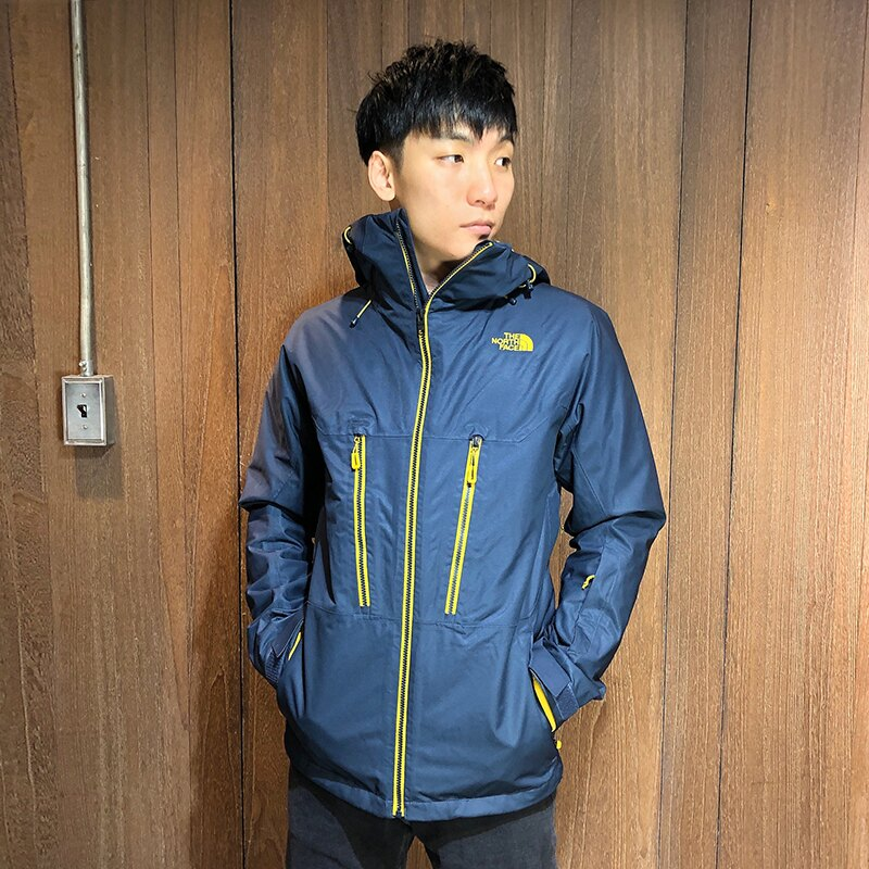 美國百分百【The North Face】連帽外套 TNF 暖魔球 北臉 兩件式 夾克 保暖防水 深藍 S號 AR92