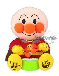 SEGA TOYS麵包超人打鼓玩偶娃娃音樂玩具795220海渡