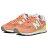 Shoestw【WL574ESF】NEW BALANCE NB574 復古休閒鞋 麂皮 馬卡龍 橘子汽水 粉橘鵝黃 女生 2