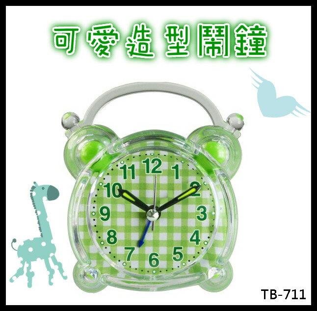 <br/><br/>  鬧鐘 耐嘉 KINYO可愛造型鬧鐘  賣家送電池 TB-711 時鐘 鬧鈴 日常用品 床邊<br/><br/>