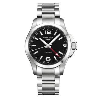 LONGINES 浪琴L36874566 征服者動力儲存機械腕錶/黑面41mm